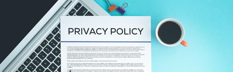 プライバシーポリシーの設置